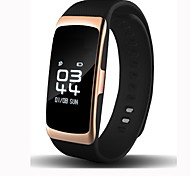 Smart Bracelet iOS Android Water Resistant / Water Proof Calories Burned Pedometers Exercise Record Heart Rate Monitor Touch Screen Alarm