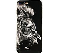 Назначение iPhone X iPhone 8 Чехлы панели Ультратонкий С узором Задняя крышка Кейс для Животное Мягкий Термопластик для Apple iPhone X