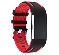 cheap -Watch Band for Fitbit Charge 2 Fitbit Sport Band Modern Buckle Silicone Wrist Strap