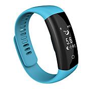 Недорогие -k5 smart health wristband плавающий шагомер сердечный ритм и контроль сна элегантный дизайн дисплея ui
