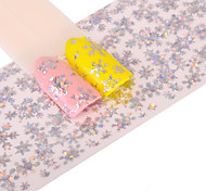 1 Nail Art Sticker  Glitter Pattern Accessories Art Deco/Retro 3D Nail Stickers Cartoon 3-D Sticker DIY Supplies Makeup Cosmetic Nail Art