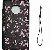 Недорогие -Кейс для Назначение Motorola С узором Кейс на заднюю панель Цветы Мягкий ТПУ для Мото G5 Plus Moto G5