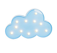 BRELONG 3D Warm White Kids Room Decoration Night Light Christmas Light Wedding Decorative Light - Clouds