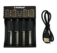 cheap -LiitoKala lii-402 4 Slots USB Battery Charger For Ni-MH Li-ion LiFePO4 Battery