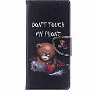 Case for Samsung Galaxy Note 8 Word Card Holder PU Wallet Leather Card Bag with Pattern