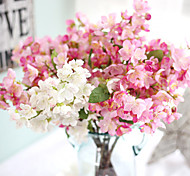 cheap -1 Branch Others Real touch Sakura Tabletop Flower Artificial Flowers