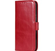 Case For Samsung Galaxy S8 Plus S8 Wallet Card Holder with Stand Flip Magnetic Full Body Solid Color Hard Genuine Leather for S8 S8 Plus