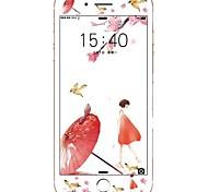 Недорогие -Защитная плёнка для экрана Apple для iPhone 8 Закаленное стекло 1 ед. Защитная пленка для экрана 3D закругленные углы Против отпечатков
