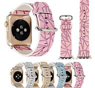 для яблочных часов iwatch серии 3 2 1 красочный блеск кожаный ремешок из натуральной кожи&адаптер 38 мм 42 мм