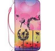 Case For Apple Ipod Touch5 / 6 Case Cover Card Holder Wallet with Stand Flip Pattern Full Body Case Bee Hard PU Leather