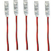 RGB 3 BUTTON MINI RGB CONTROLLER 12V-24VLED LAMP WITH 3KEYS HAND CONTROLLER (5PCS)