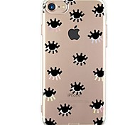 Case For iPhone X iPhone 8 Ultra-thin Transparent Pattern Back Cover Sexy Lady Soft TPU for iPhone X iPhone 8 Plus iPhone 8 iPhone 7 Plus