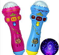 LED Lighting Toys Microphone Toys Novelty Toys Family Birthday Glow Holiday New Design Kids 1 Pieces