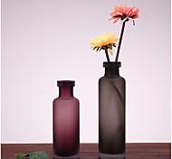 Недорогие -креативный стиль мягкий наряд простой украшение для ювелирных украшений для дома домашняя обстановка матовая стеклянная ваза