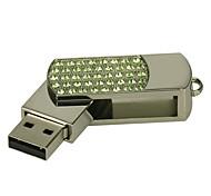 cheap -4G U Disk Crystal  Pen Drive  Pen Drive Jewelry Usb Flash Drive USB 2.0 Christmas Gift