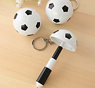 1 шт футбол футбол дизайн синие чернила телескопическая ручка
