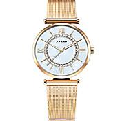 Женские Нарядные часы Модные часы Наручные часы Японский кварц Имитация Алмазный Нержавеющая сталь ГруппаВинтаж С подвесками
