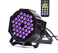 cheap -U'King ZQ-B193B-YK 36*1W LEDs Purple Color Auto DMX Sound Activated Par Stage Lighting with 1 Remote Control for Disco Party Club KTV Wedding