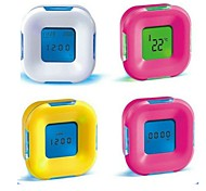 cheap -Alarm clock Digital Plastic LED 1pcs