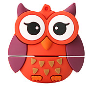 Cartoon Owl High Speed 128GB USB 2.0 Flash Drive U Disk Memory Disk