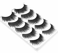 cheap -5 Daily Makeup Full Strip Lashes Natural Long Makeup Tools High Quality Daily