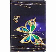 Schmetterling Muster Kartenhalter Brieftasche mit Ständer Flip magnetischen PU-Ledertasche für Samsung Galaxy Tab s2 8.0 T710 T715 8.0
