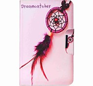 Dream Catcher Pattern Card Holder Wallet with Stand Flip Magnetic PU Leather Case for Samsung Galaxy TAB A 10.1 T580N T585N 10.1 inch Tablet PC