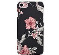 Недорогие -Назначение iPhone X iPhone 8 Чехлы панели С узором Задняя крышка Кейс для Цветы Мягкий Термопластик для Apple iPhone X iPhone 8 Plus