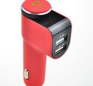 ips a8 bluetooth fm transmisor adaptador de radio kit de coche 5 v 2.1a usb cargador rápido mp3 player manos de apoyo llamadas gratuitas