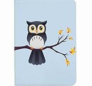 Eule Muster Kartenhalter Brieftasche mit Standplatz Flip magnetischen PU Ledertasche für Samsung Galaxy Tab s2 t810 t815 9,7 Zoll Tablet