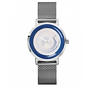 Men's Women's Fashion Watch Wrist watch Casual Watch Chinese Quartz Chronograph Metal Band Black Silver Grey Gold Pink