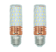 2pcs 16W E27 LED Corn Lights T 84 leds SMD 2835 Warm White White Dual Light Source Color 1300lm 3000-3500  6000-6500  3000-6500K AC