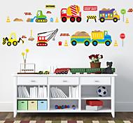 cheap -Transportation Wall Stickers Plane Wall Stickers Decorative Wall Stickers, Plastic Home Decoration Wall Decal Wall