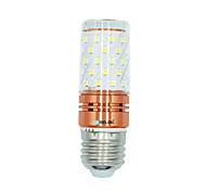 Недорогие -BRELONG® 1шт 12W 1000lm E27 LED лампы типа Корн T 60 Светодиодные бусины SMD 2835 Тёплый белый Белый Двойной цвет источника света 220-240V