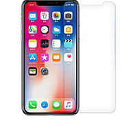 cheap -Screen Protector Apple for iPhone X Tempered Glass 1 pc Scratch Proof 2.5D Curved edge 9H Hardness High Definition (HD)
