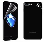 abordables -Protector de pantalla Apple para iPhone 8 Plus PET 2 pcs Protector de Pantalla Posterior y Frontal Anti-Arañazos Alta definición (HD)