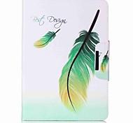 preiswerte -Hülle Für Samsung Galaxy Tab A 9.7 Ganzkörper-Gehäuse Tablet-Hüllen Feder Hart PU-Leder für