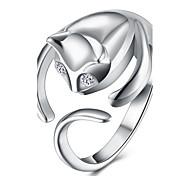 Недорогие -Жен. Бижутерия Мода Открытые Медь Серебрянное покрытие Кот Бижутерия Назначение Для вечеринок