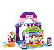 Building Blocks Toys Fairytale Theme People Fantacy Fashion Friends Girls Girls' 243 Pieces
