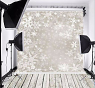 Only shadow snow background photography cloth 0.9 m * 1.5 m for Christmas