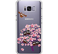 Case For Samsung Galaxy S8 Plus S8 Ultra-thin Transparent Pattern Back Cover Owl Flower Soft TPU for S8 S8 Plus S7 edge S7 S6 edge plus