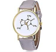 Жен. Нарядные часы Модные часы Наручные часы Китайский Кварцевый PU Группа С подвесками Повседневная Элегантные часы Черный Белый