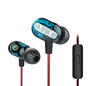 Недорогие -kz zse 3.5mm earbuds двойная лихорадка hifi гарнитура затычки для ушей