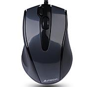 a4tech n-500f проводная офисная мышь usb 1000dpi 4 клавиши эргономичная мышь