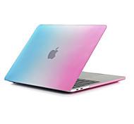"""Недорогие -MacBook Кейс Матовое Градиент цвета Поликарбонат для Новый MacBook Pro 15"""" / Новый MacBook Pro 13"""" / MacBook Pro, 15 дюймов"""