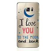 Case For Samsung Galaxy S8 Plus S8 Pattern Back Cover Word / Phrase Soft TPU for S8 Plus S8 S7 edge S7 S6 edge plus S6 edge S6