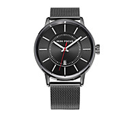 Men's Wrist watch Fashion Watch Quartz Water Resistant / Water Proof Stainless Steel Band