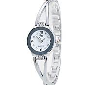 Недорогие -Жен. Кварцевый Наручные часы Китайский Секундомер Нержавеющая сталь Группа На каждый день Имитированные алмазные часы Elegant Мода