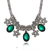 cheap -Women's Geometric Irregular Pendant Necklace Chain Necklace Cubic Zirconia Zircon Pendant Necklace Chain Necklace , Daily Casual