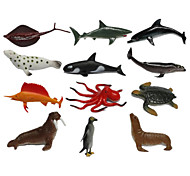 Action & Toy Figures Toys Penguin Dolphin Fish Octopus Shark Animals Pieces Kids Gift